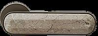 Ручка дверная на розетке МВМ Z-1804 со вставками под мрамор
