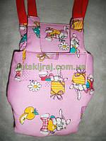 Прыгунки - тарзанка – качели 3в1 Розовый