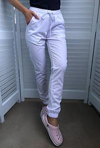 Медицинские штаны на манжетах, джоггеры