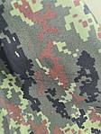 Тканина бундес піксель бавовна воєнка, щільний Для пошиття курток з утепленням, чохлів на зброю., фото 3