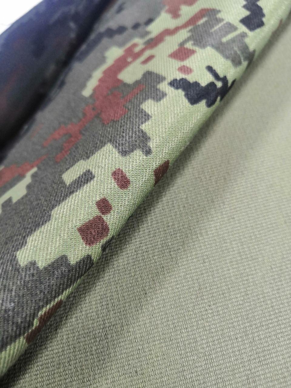Тканина бундес піксель бавовна воєнка, щільний Для пошиття курток з утепленням, чохлів на зброю.