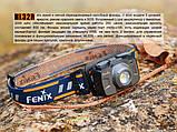Ліхтар налобний Fenix HL32R блакитний, фото 3