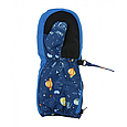 Детские варежки краги тепле на молнии Космос и планеты MaxiMo Германия Thinsulate 1,2,3,4,5,6 лет, фото 2
