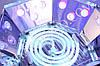 Лампа для запікання гель лаку Professional Nail LED+CCFL 48W (червона), фото 4