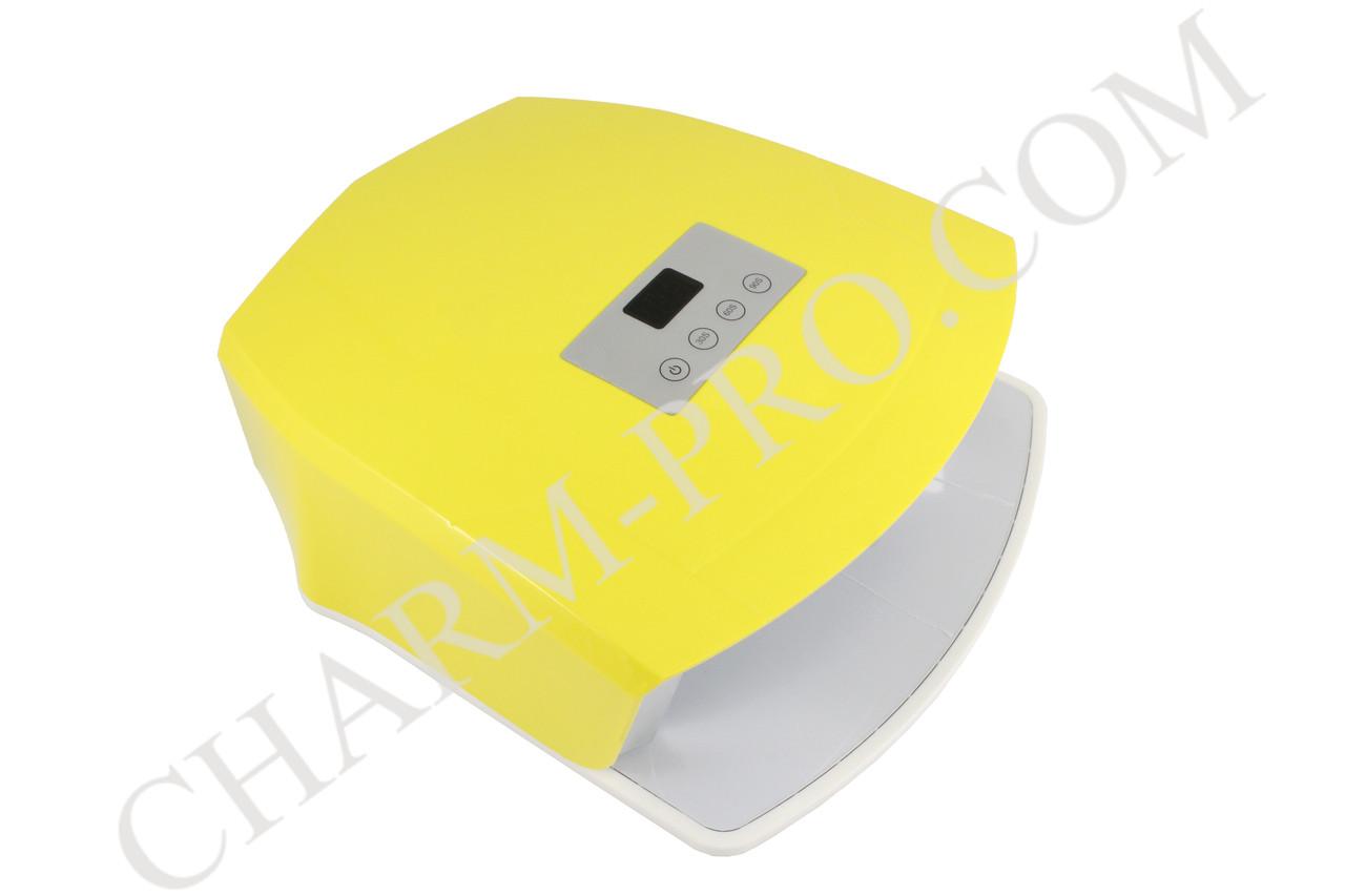 Лампа для запікання гель-лаку LED-UV жовта. JSDA L4824s