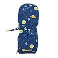 Детские варежки краги тепле на молнии Космос и планеты MaxiMo Германия Thinsulate 1,2,3,4,5,6 лет, фото 4