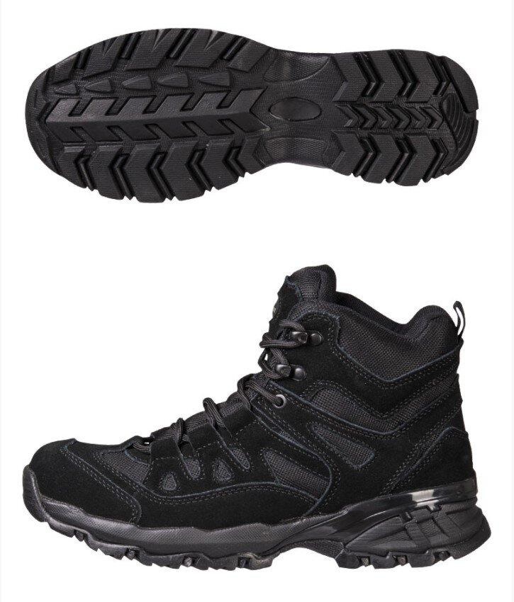 Mil-Tec Squad Boots Black Взуття тактичне EU45