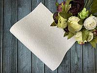 Экокожа «Мех нерпа уплотненный» 20 х 34 см, 10 листов/уп., белый оптом, фото 1