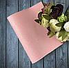 Экокожа мелкий блеск  20 х 34 см, 10 листов/уп, цвета  перламутровый розовый оптом