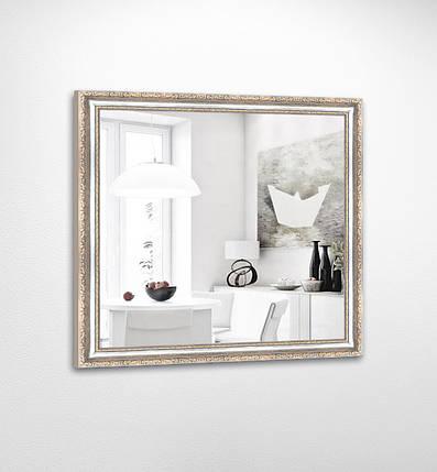 Настенное зеркало БЦ Стол Ванесса квадратное B07 белое, фото 2