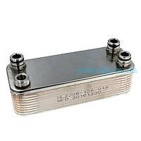 Теплообменник ГВС G20 18 пластин Vaillant Atmomax, Turbomax Pro/Plus  065153 B