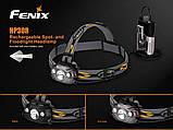 Ліхтар налобний Fenix HP30R сiрий, фото 6