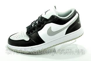 Мужские кроссовки Nike Air Jordan 1 Low Black\White