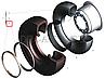 7,0-20-3101026 Кольцо замочное диска колесного МАЗ КРАЗ (пр-во КрКЗ), фото 8