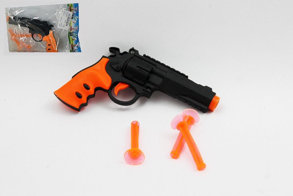 Пістолет дитячий стріляє присосками в пакеті  317
