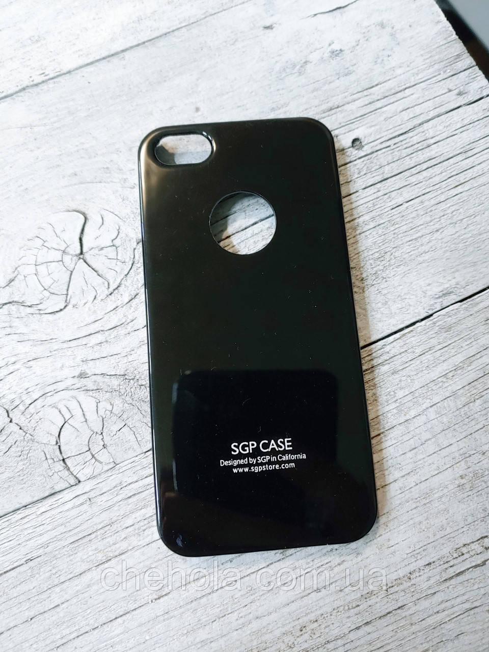 Тонкий Противоударный Чехол Iphone 5 5S SE SGP Spigen