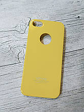 Тонкий Противоударный Чехол Iphone 5 5S SE SGP Spigen Жёлтый