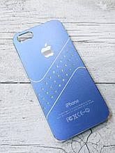 Женский Чехол для iPhone 5 5S SE Стразы Синий