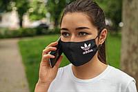 Многоразовая маска с принтом Adidas