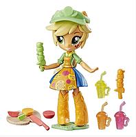 Кукла Пони Эпплджек Магазин Фруктовых Смузи My Little Pony Applejack Hasbro B9474