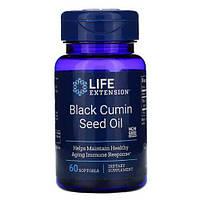 Масло чорного тмина, Life Extension Black Cumin Seed Oil 60 жидких капсул