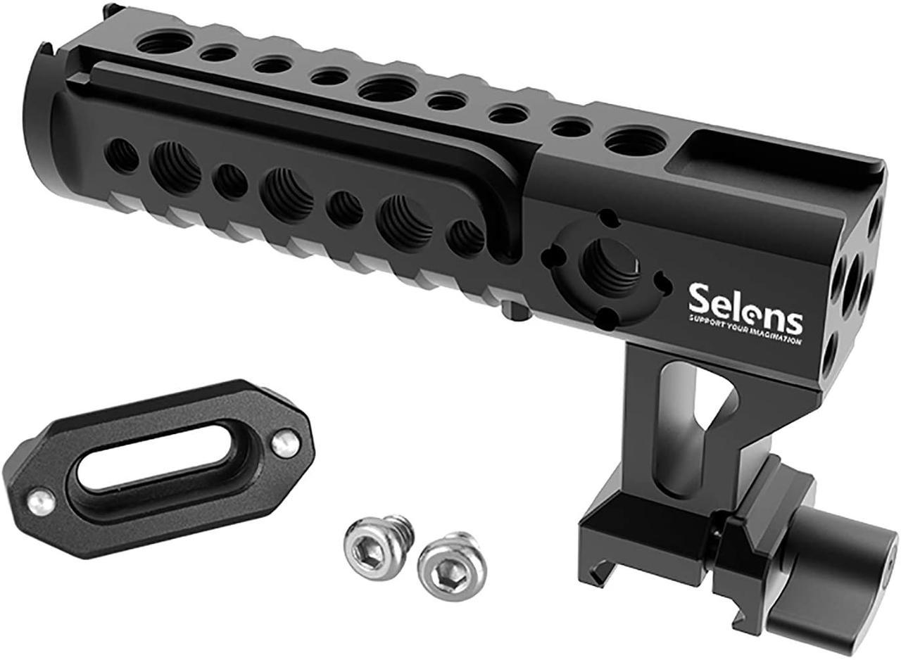 Универсальная рукоятка Selens на клетку ( Rig/Риг совместим с клетками SmallRig / Tilta / 8sinn)