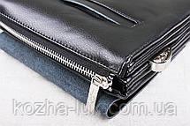 Чоловіча шкіряна сумка через плече, фото 3