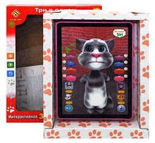 """Детский игровой планшет """"Кот Том"""" интерактивный"""