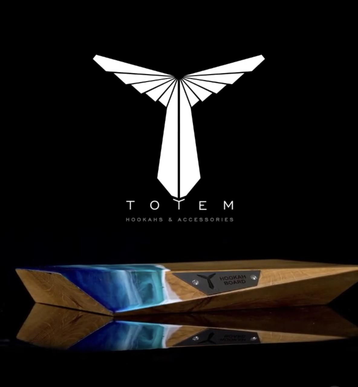 Дошка для приготування кальяну Totem Hookah - Board Edge Ocean Wave (Тотем)