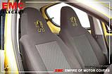 Авточехлы Dacia Logan MCV 2006- 5 мест (з/сп. цельная) EMC Elegant, фото 3