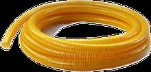Гофра напорно-всасывающая желтая Ø50мм - 25м TM EvciPlastik