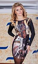 "Д3081 Платье ""Мустанг"" Турция размер 42-44, фото 2"