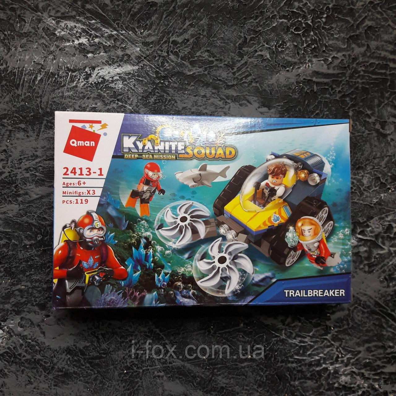"""Конструктор Kyanite Squad подводное плавание """"Вездеход для уничтожения кораллов"""""""