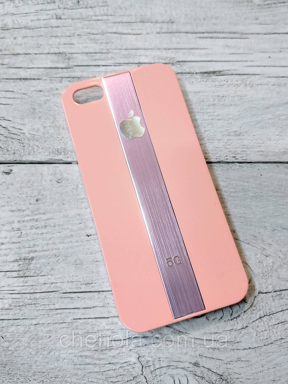 Протиударний Чохол для Iphone 5 5S SE Juicy Metal Рожевий