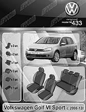 Авточохли Volkswagen Golf 6 Sport 2008-2012 EMC Elegant