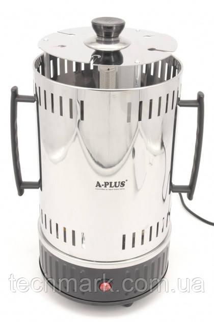 Вертикальная электрошашлычница A-Plus на 6 шампуров 1000 Вт