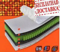 """Матрас  Organic Alfa. Матрас Альфа. Да, 18, 300, 150, натуральный латекс, Да, 120х190, Украина, пружинный, независимый пружинный блок """"IQ Spring"""", прямоугольный"""