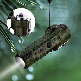 Водонепроницаемые USB зажигалки для туристов, рыбаков и охотников