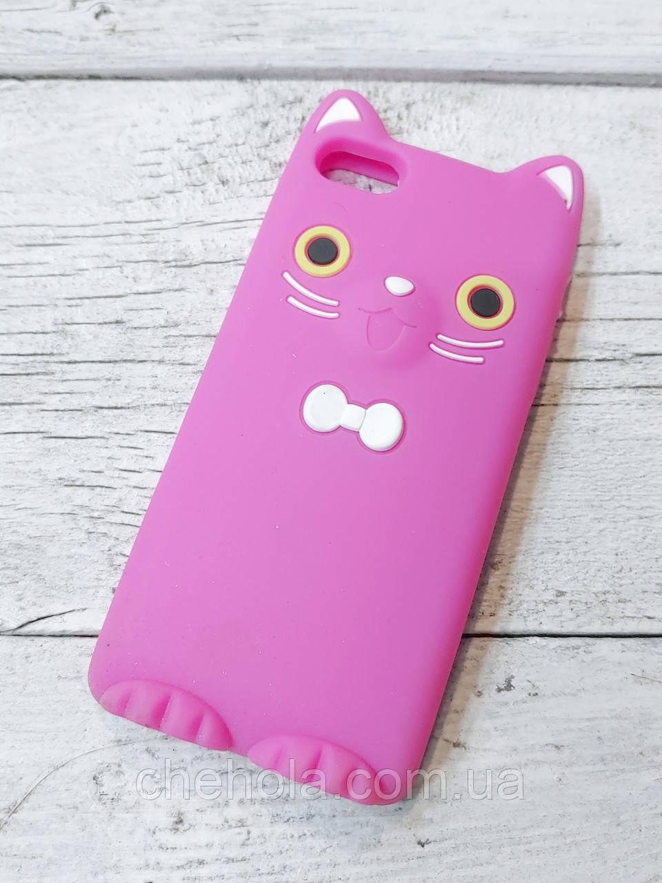 Захисний силіконовий Чохол Кошеня для iPhone 5 5S SE Koko Cat