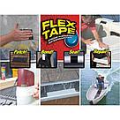 Клейка універсальна стрічка N-FLEX Tape надміцна водонепроникність ізоляційна скотч Flex флекс тейп Плівки, фото 10