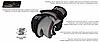 Рукавички для MMA PowerPlay 3026 Чорні XL, фото 5