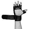 Рукавички для MMA PowerPlay 3026 Чорні XL, фото 7