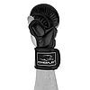 Рукавички для MMA PowerPlay 3026 Чорні XL, фото 3