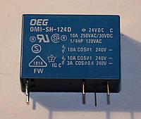 Реле электромеханическое  OMI-SH-124D;  24VDC