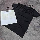 Мужская футболка Emporio Armani CK1758 белая, фото 3