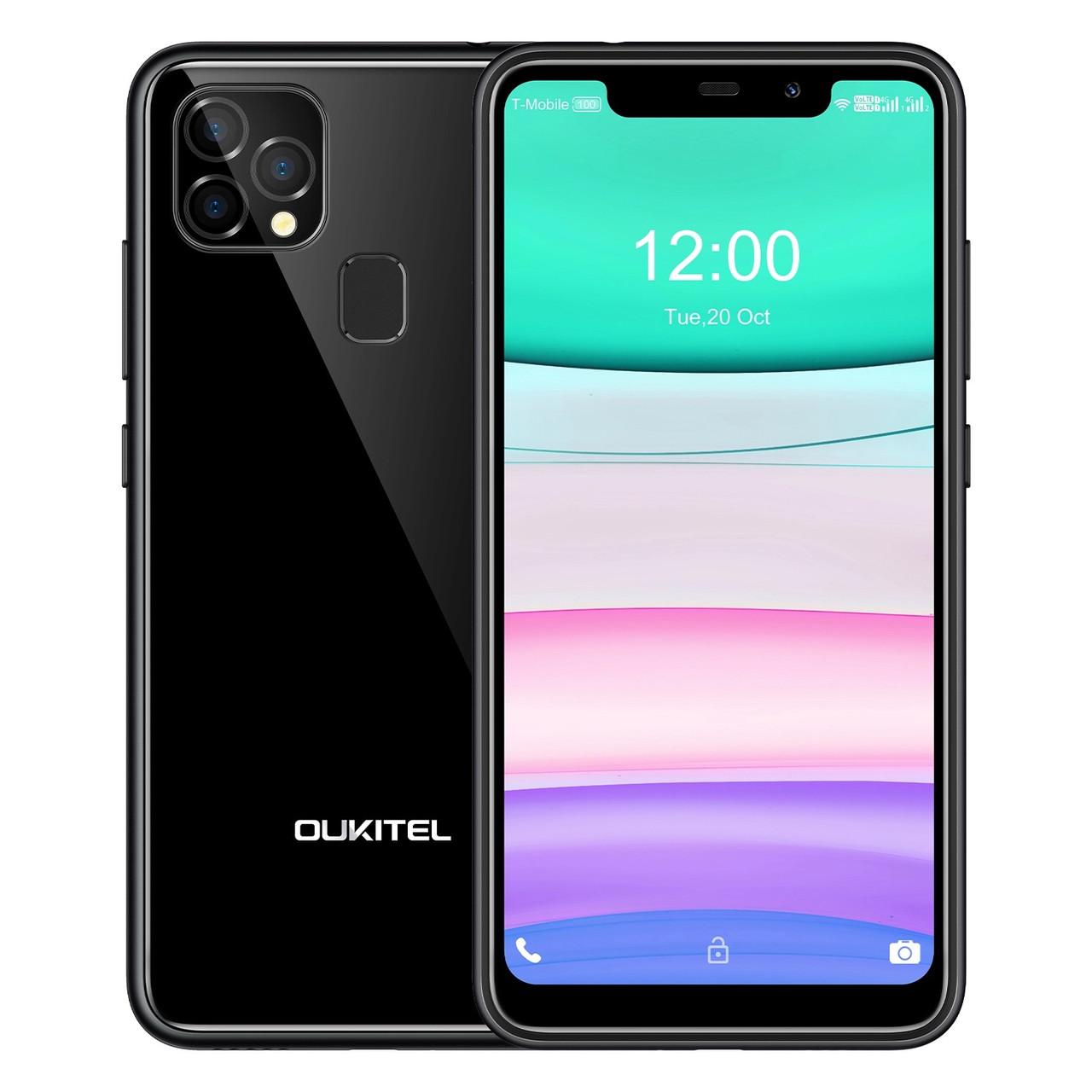 Oukitel C22 | Чорний | 4/128gb | 4G/LTE | Гарантія