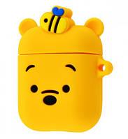 Чехол Grand Soft Funny Case для Apple AirPods Winnie Yellow NC-21501-Winnie, КОД: 1343993