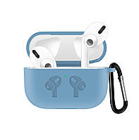 Чехол Grand для наушников Apple AirPods Pro Silicone Case Sky Blue AL4411, КОД: 1389756
