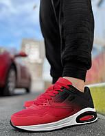 Кроссовки красные на белой подошве Air Max весна топ