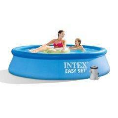 Надувний басейн Intex 28108, 244 х 61 см (1 250 л/год)